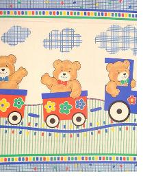 Bear Train Baby Panel In-Stock 2008