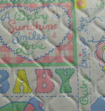 Quilted Baby Vinyl