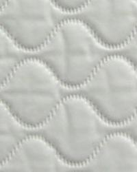 Quilted White Vinyl by