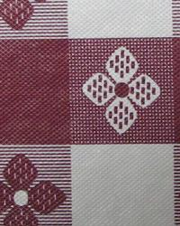 Tablecloth Tavern Check Maroon  by