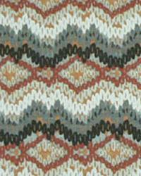 Navajo Print Fabric  Chino Brick Birch