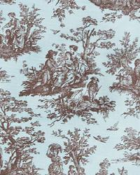 Jamestown French Blue Kelso by  Premier Prints