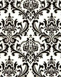 Premier Prints Madison Black White Fabric