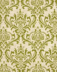 Beige Funky Retro Fabric  Madison Olive Linen