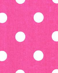 Polka Dots Candy Pink White by