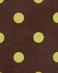 Premier Prints Polka Dots Chocolate Irish Fabric