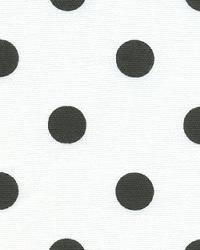 Premier Prints Polka Dots White Black Fabric