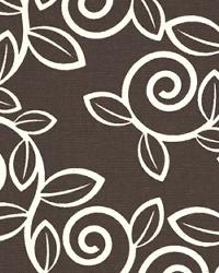 Premier Prints Trellis Chocolate Natural Fabric