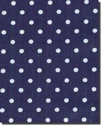 Robert Kaufman Pimatex Basics Small Dot Navy Fabric