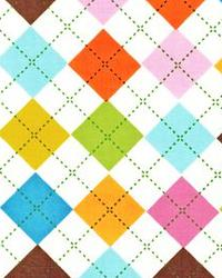 Argyle Diamond Fabric