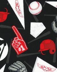 Sports Life Baseball Fan Black by