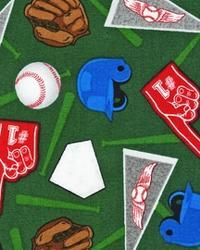 Sports Life Baseball Fan Green by