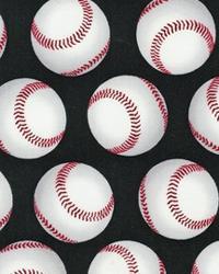 Sports Life Baseballs Black by