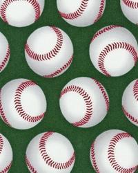 Sports Life Baseballs Green by