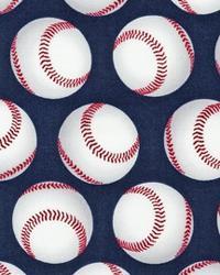 Sports Life Baseballs Navy by