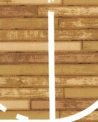 Sports Life Basketball Court Brown by
