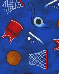 Sports Life Basketball Fan Royal by