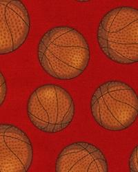 Sports Life Basketballs Red by