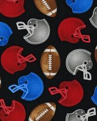 Sports Life Football Fan Black by