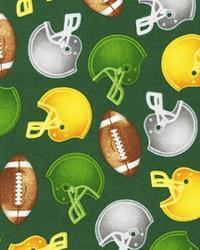 Sports Life Football Fan Green by