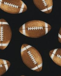Sports Life Footballs Black by