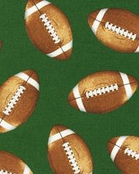 Sports Life Footballs Green by