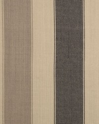 Sheldon and Barnett Lama Stripe Black Grey Fabric