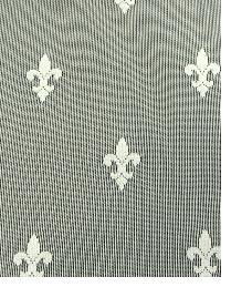 Beige Fleur de Lis Fabric  Fleur Ivory