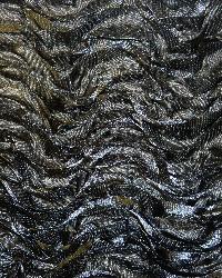 Black Ribbon Taffeta Fabric  Mackenzie Black