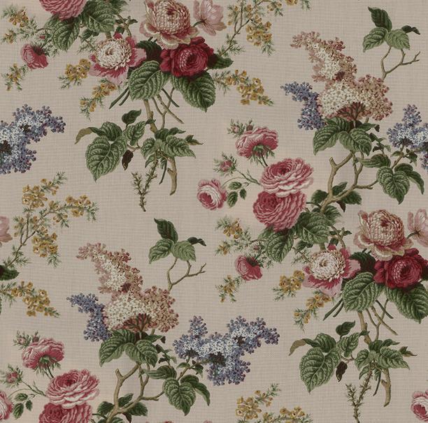 Waverly Fabrics Emmas Garden Jewel