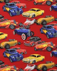 Hot Rods Red by