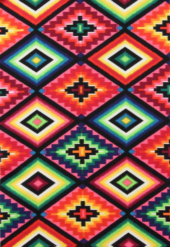 Alexander Henry Fabrics Ojo de Dios Pink - InteriorDecorating.com
