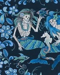 Esqueletos del Mar Navy Blue by
