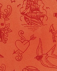 Ink Work Red Tonal by