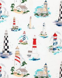 Lighthouses Fabric