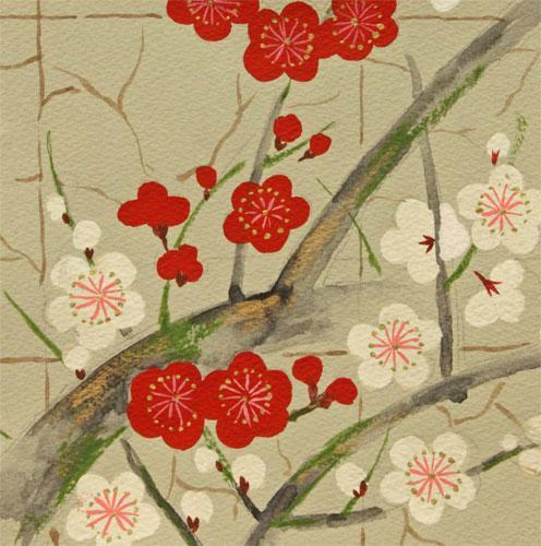 Alexander Henry Fabrics Golden Garden Grey