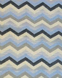Avon Multi-color ZigZag MMF 6062 E Fabric