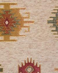 Beige Navajo Print Fabric  Kilim Chenille MMF 6075 C