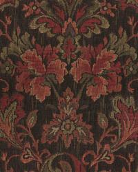 Medium Print Floral Fabric  Talbot Raisin