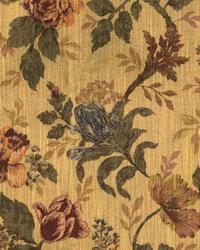 Medium Print Floral Fabric  Thornton Autumn