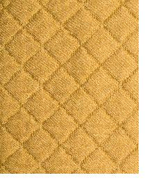 Orange Quilted Matelasse Fabric  Tic Tac Toe Ginger