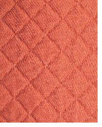 Red Quilted Matelasse Fabric  Tic Tac Toe Laquer