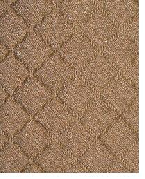 Brown Quilted Matelasse Fabric  Tic Tac Toe Mink