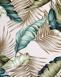 Big Kahuna Banana Leaf Natural Fabric
