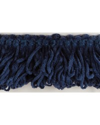 1 1/2 in Chenille  Loop Fringe 1184 BLU by