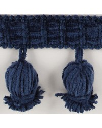 2 1/2 in Chenille Tassel Fringe 1240 BLU by