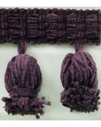 2 1/2 in Chenille Tassel Fringe 1240 PL by