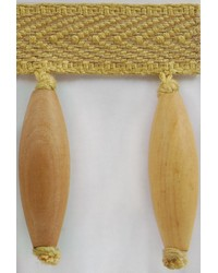 3 in Wood Bead Fringe B92797 FOR by