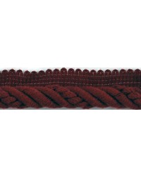 1/2 in Braided Cord W/Lip CC3804 BU by  Brimar Trim