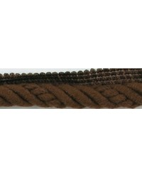 1/2 in Braided Cord W/Lip CC3804 COF by  Brimar Trim